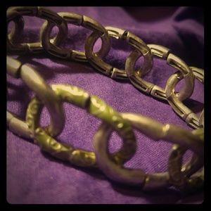 Vintage Kenneth Cole Reaction metal bracelet